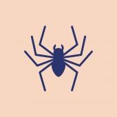 Tetování Spider-ruské věznice. Ruská značka odsouzený k mafii