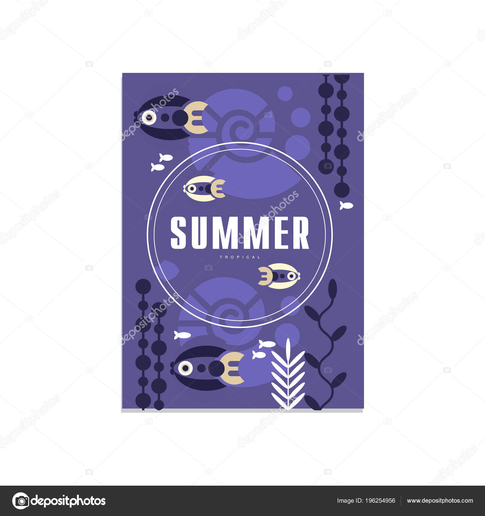 Sommer-Banner-Vorlagen, trendige saisonale blauen Hintergrund für ...