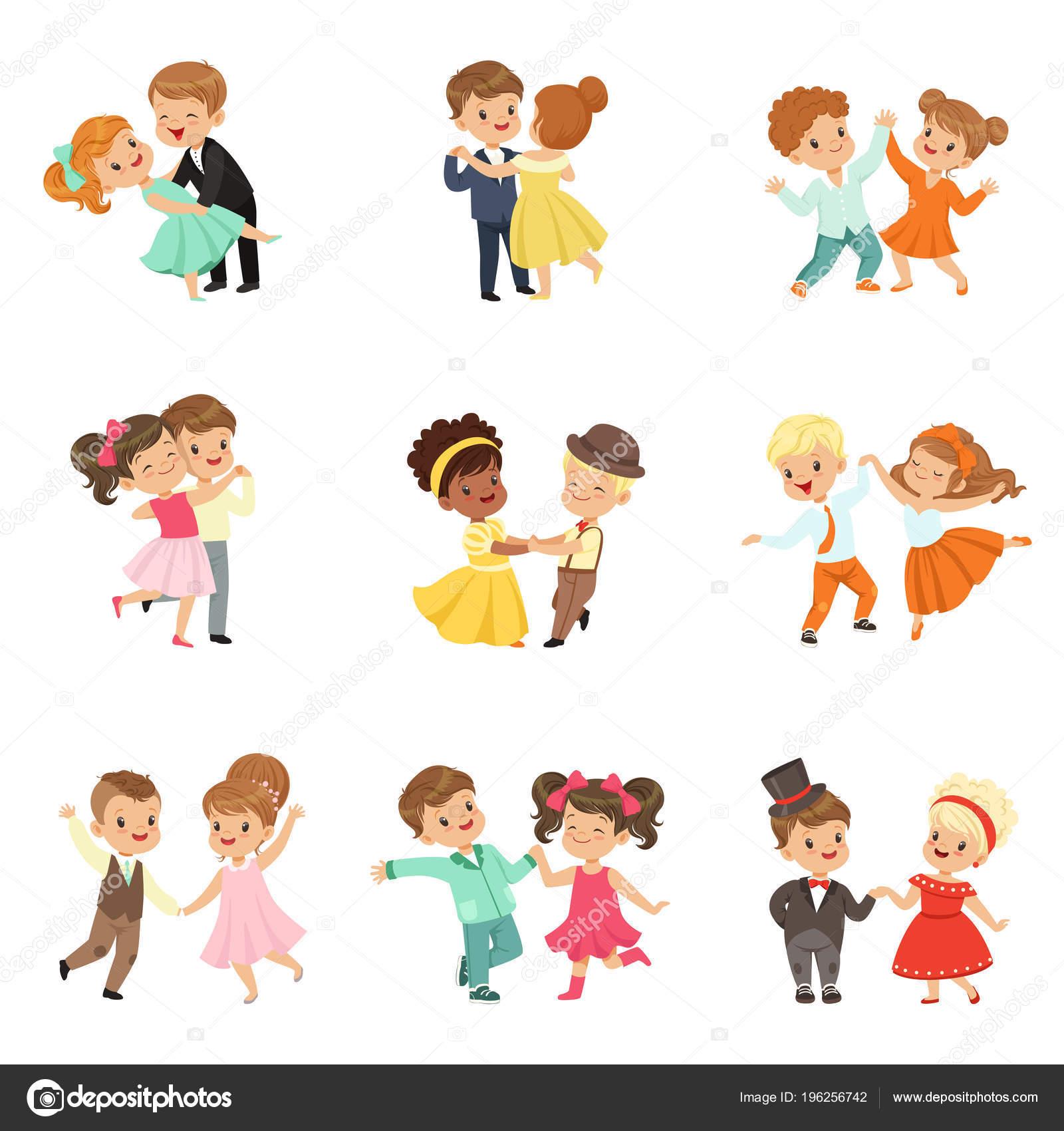 Imágenes Animadas De Niños Bailando Danzas Pareja De
