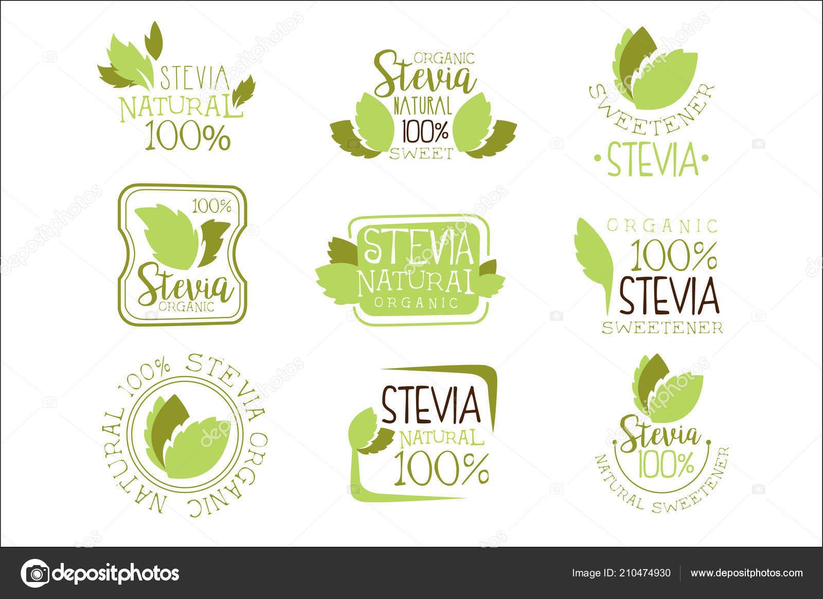 Stevia Natural aditivo edulcorante y sustituto de azúcar
