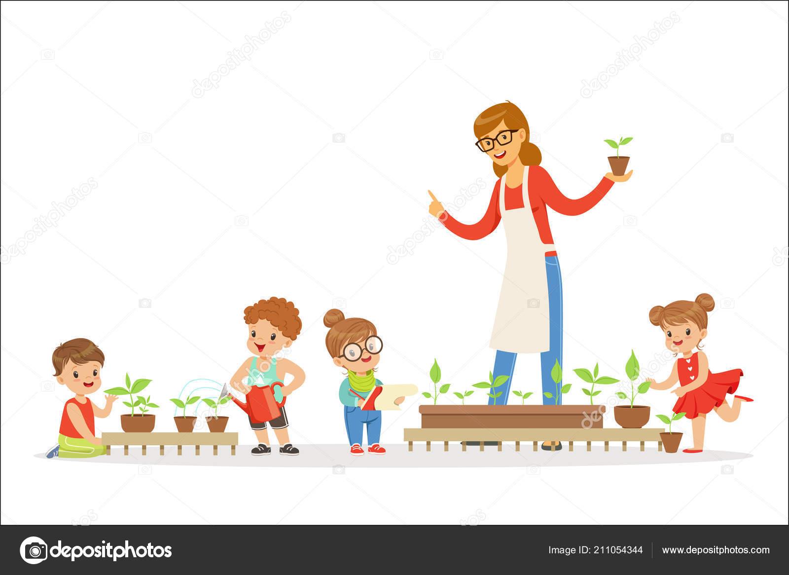 Imagenes De Niños De Preescolar Animadas