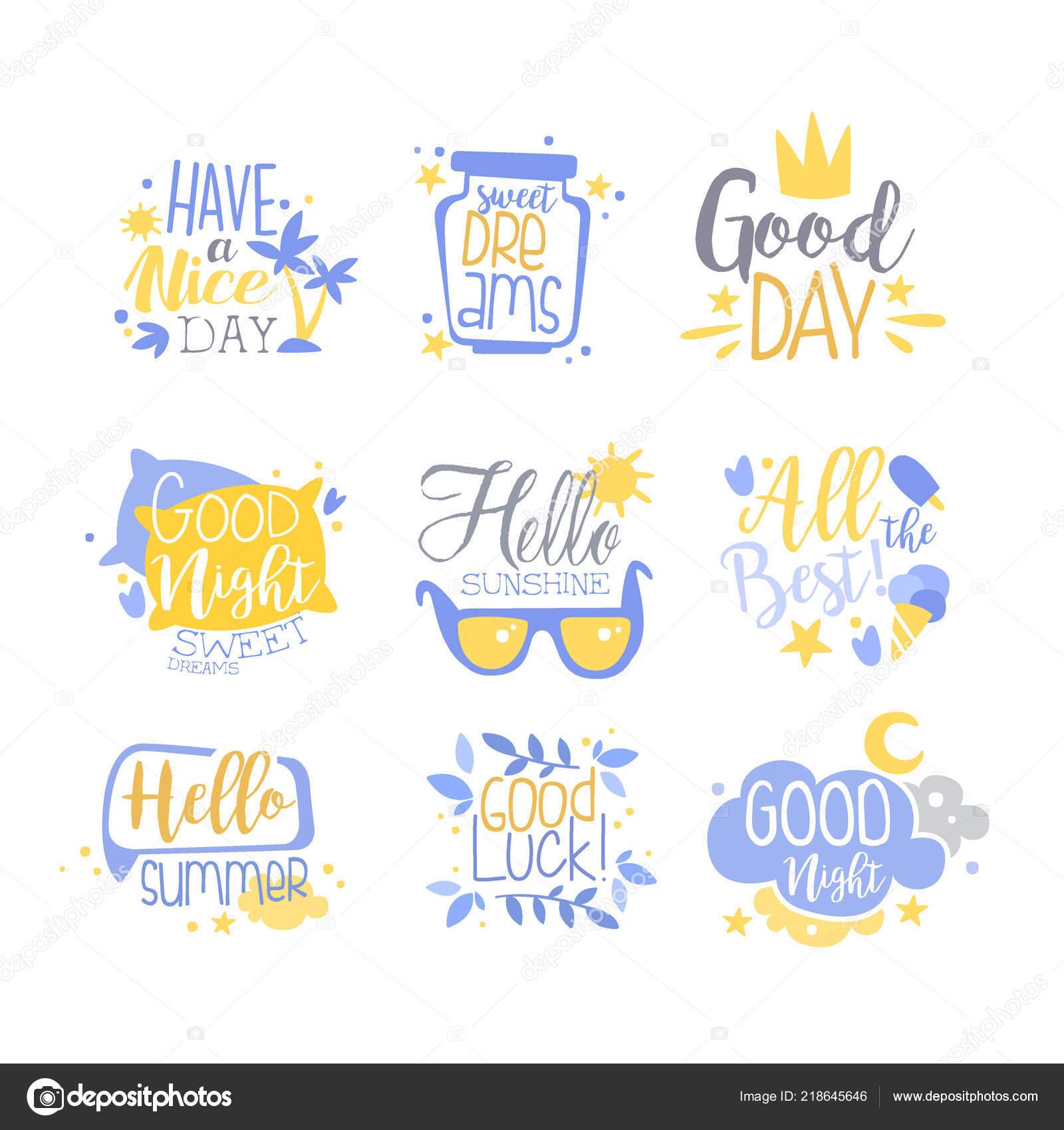 Conjunto De Frases Positivas Mano Escrita Letras