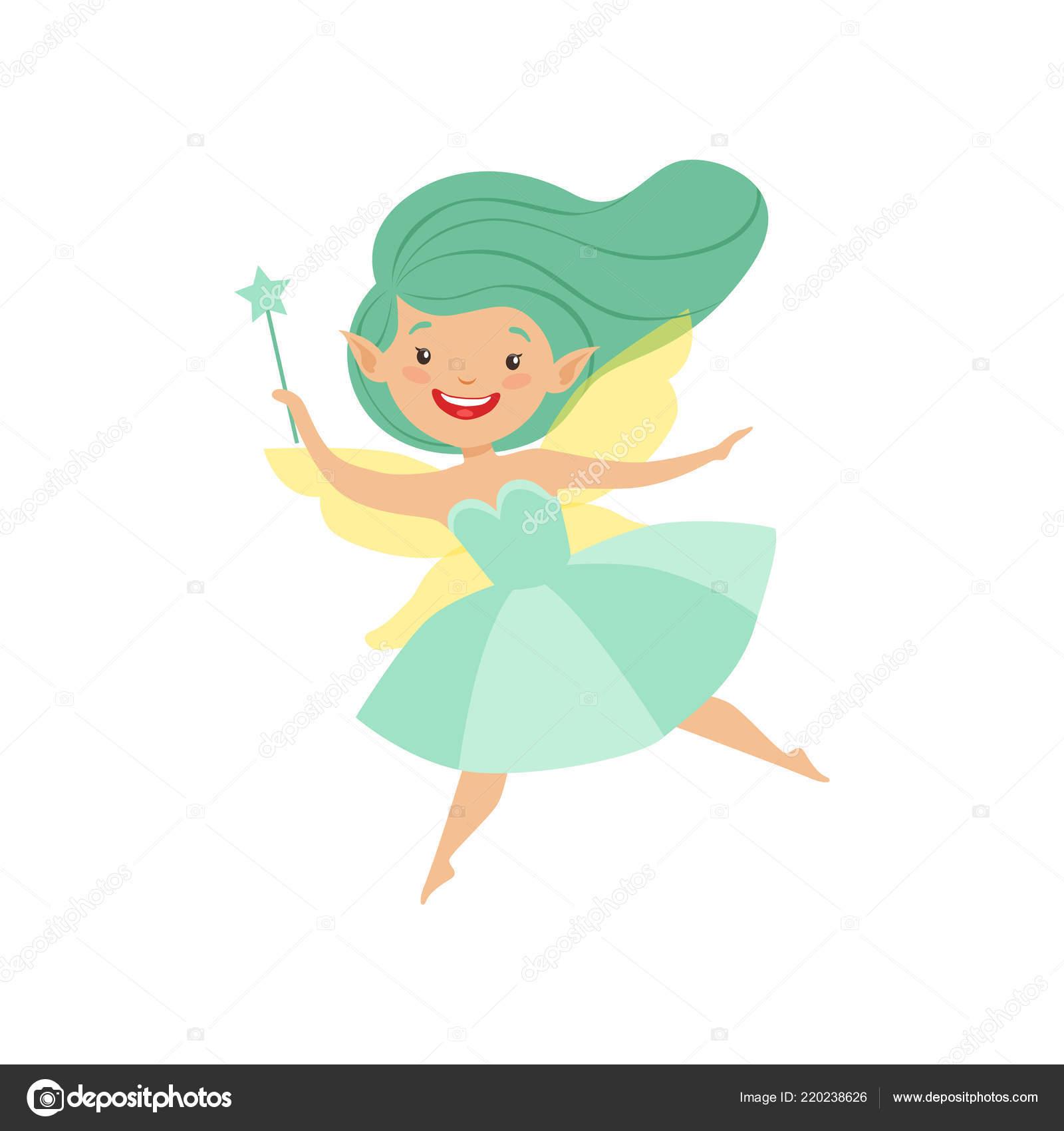 84d629ff1 Cute beautiful little winged fairy