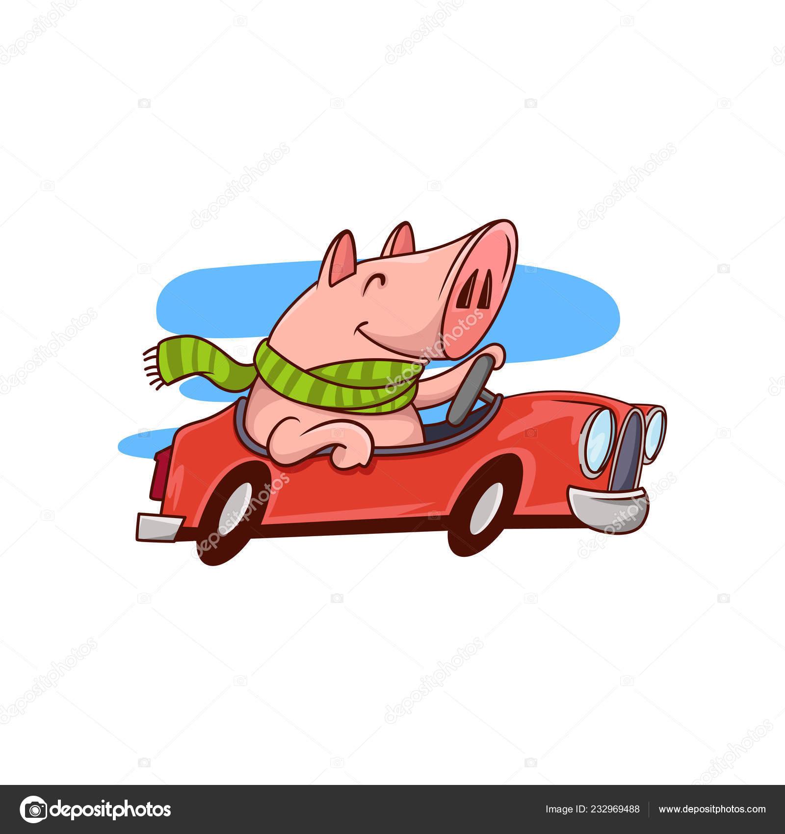 Auto Fahren Comic