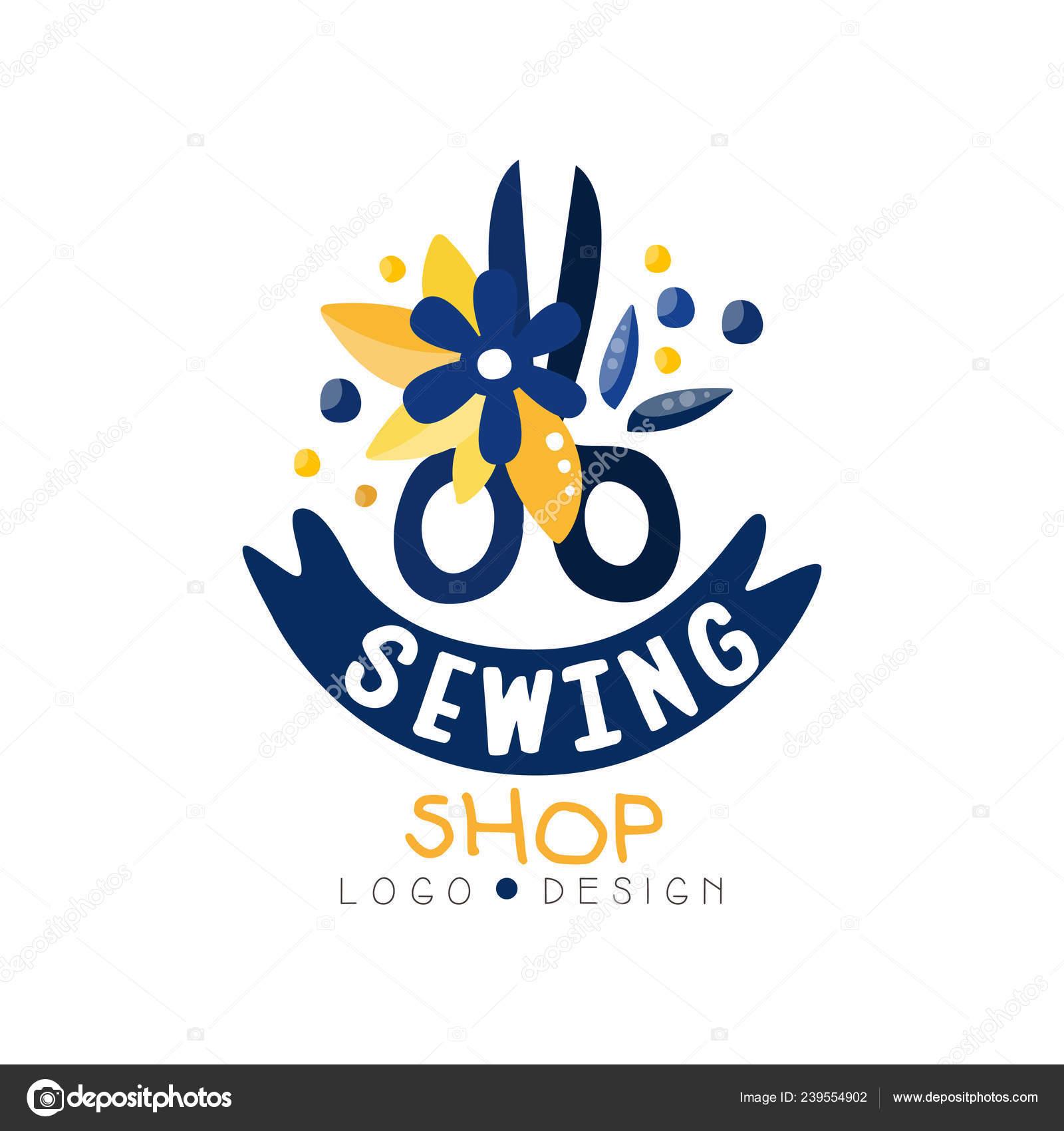 Robe De Couture Creation De Logo De Magasin Boutique