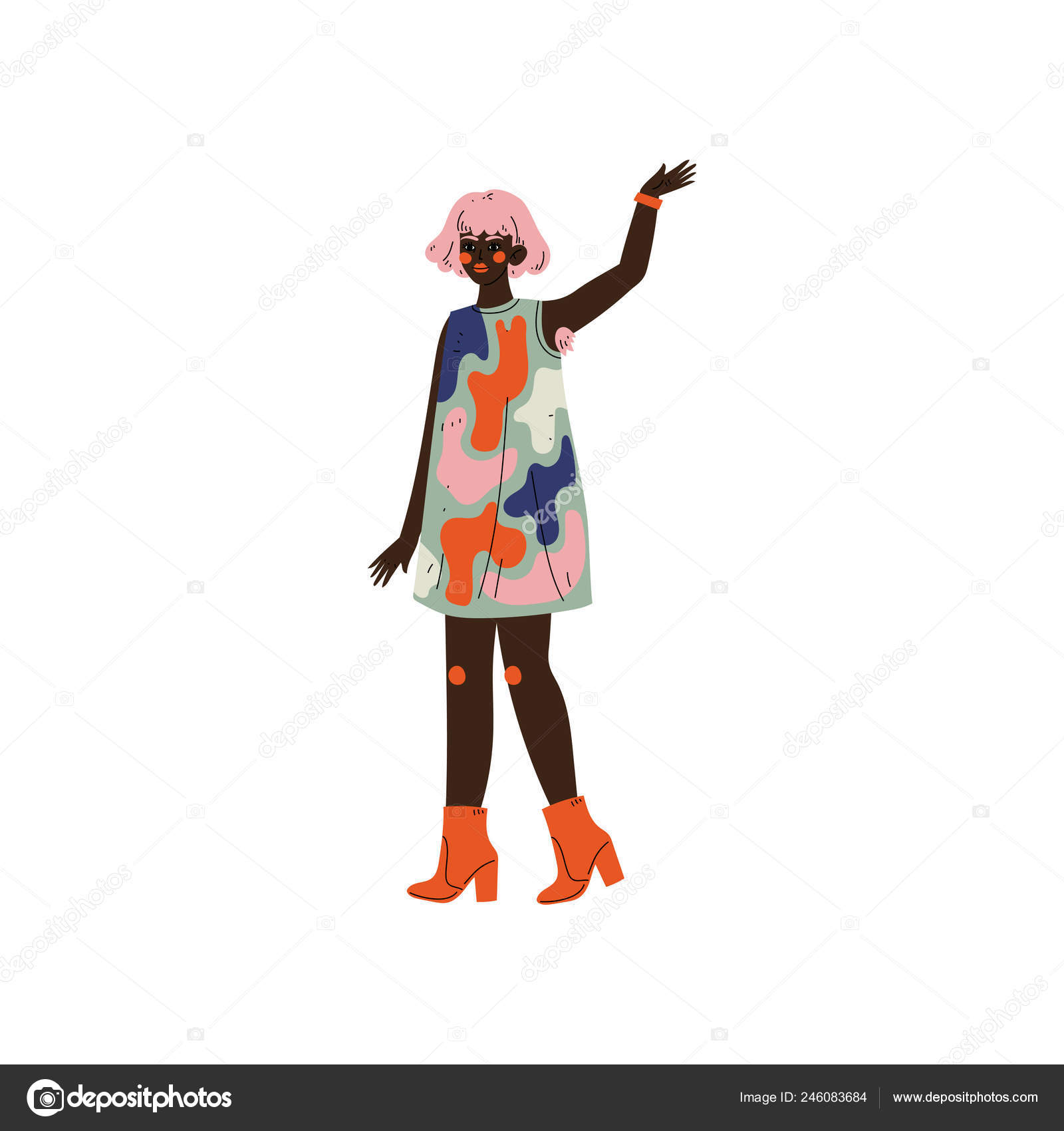 Chlupatý Afričan