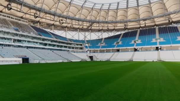 Panorama z fotbalového stadionu
