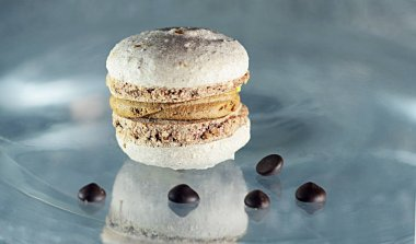 still life food confectionery French macaroni cakes