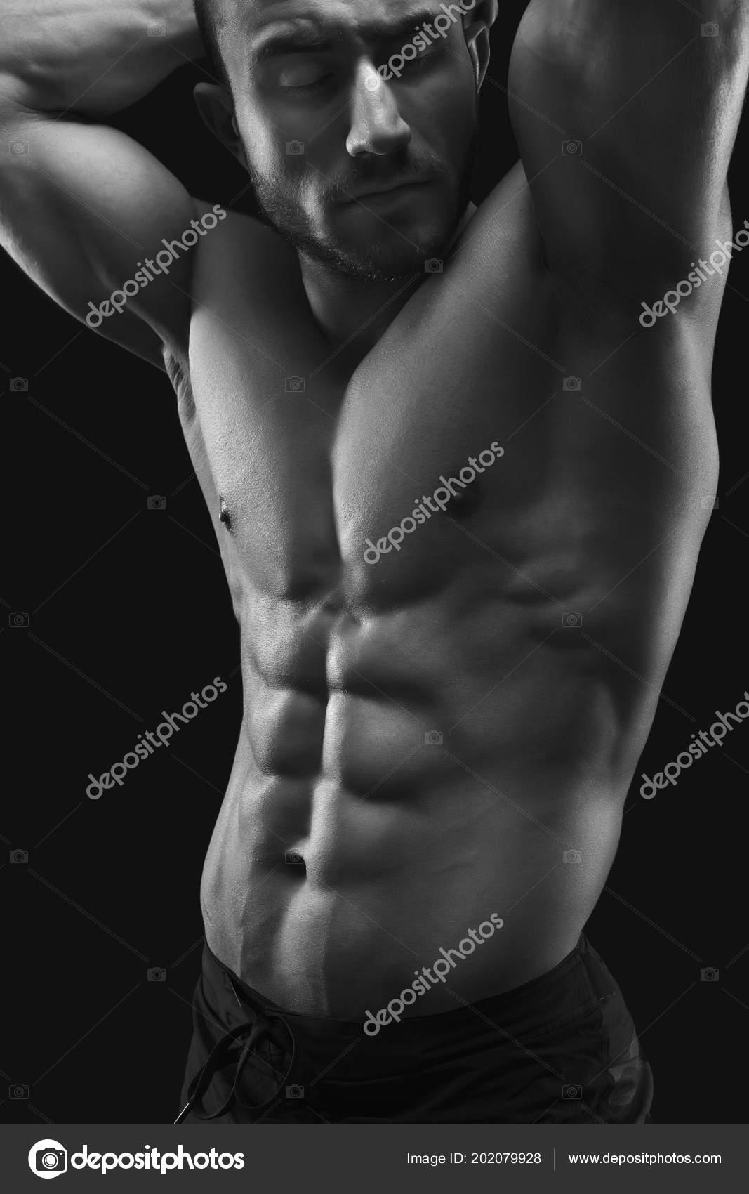 Γυμνό άνδρες μοντέλο