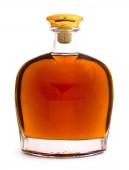 teljes whiskey bottle elszigetelt fehér background