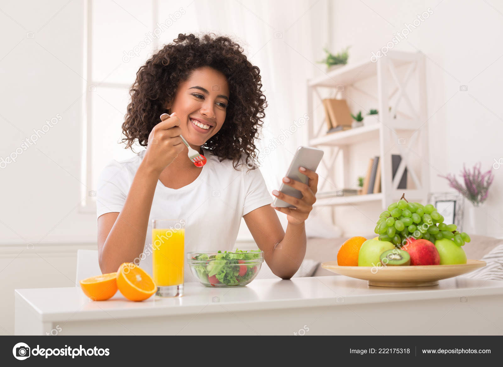 Image result for BLACK WOMAN EATING CITRUS