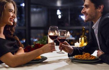 Romantic place for loving couple concept