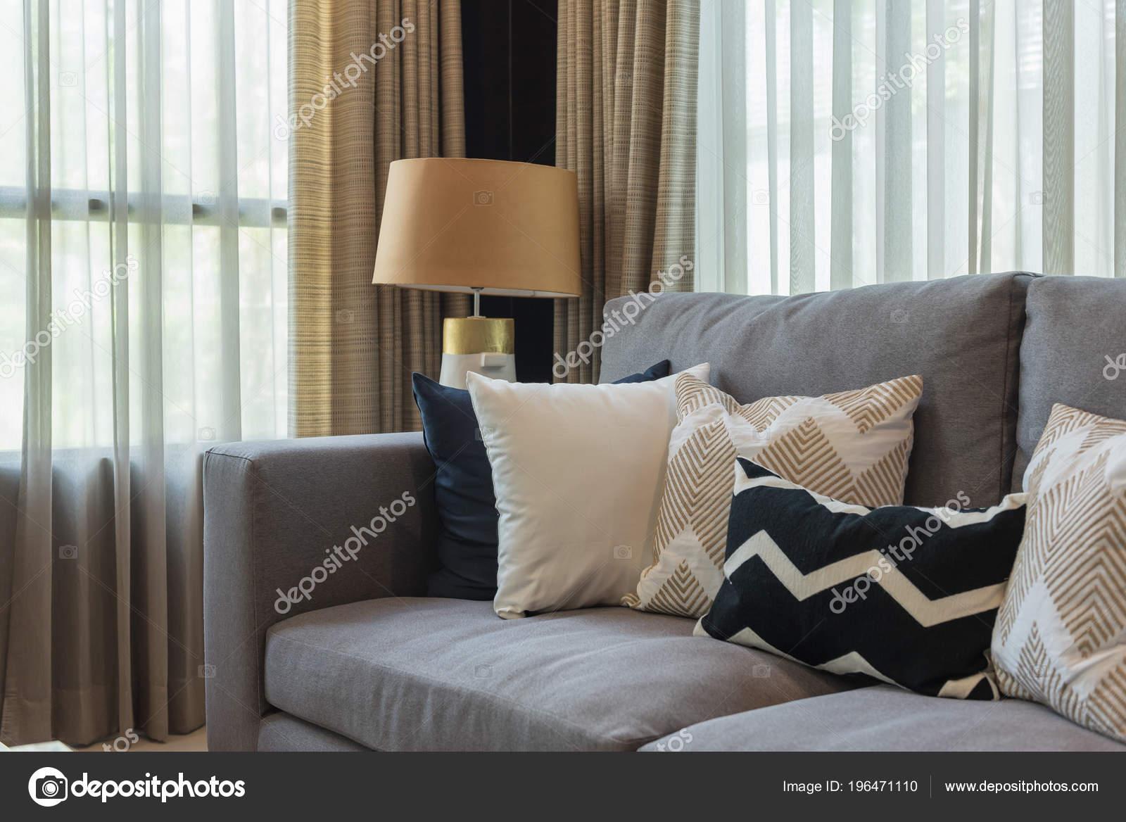 Luxus Wohnzimmer Stil Mit Set Auf Klassisches Sofa Einrichtungskonzept Mit  U2014 Stockfoto