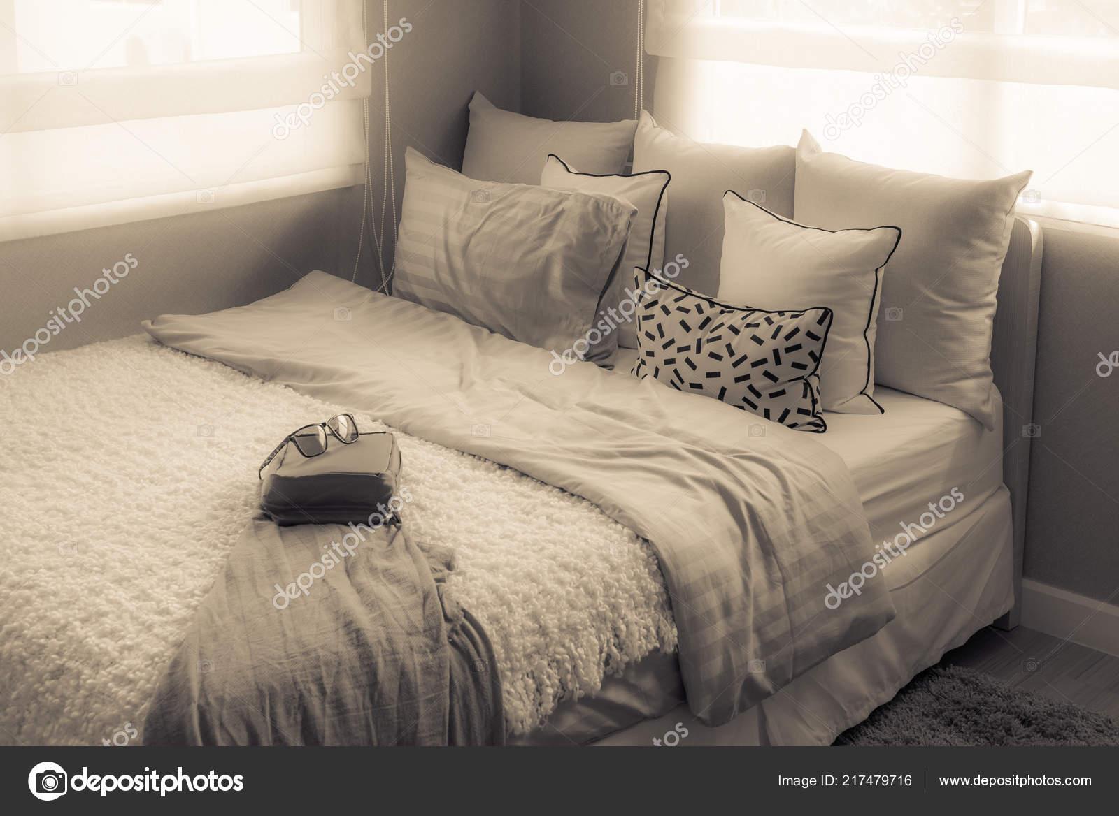 modern single bed