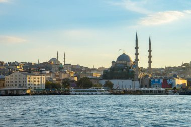 Istanbul cityscape skyline in Istanbul city, Turkey. stock vector