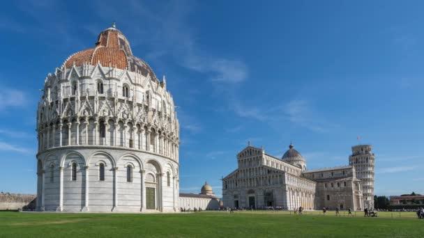 Piazza dei Miracoli itt: Pisa, Olaszország.