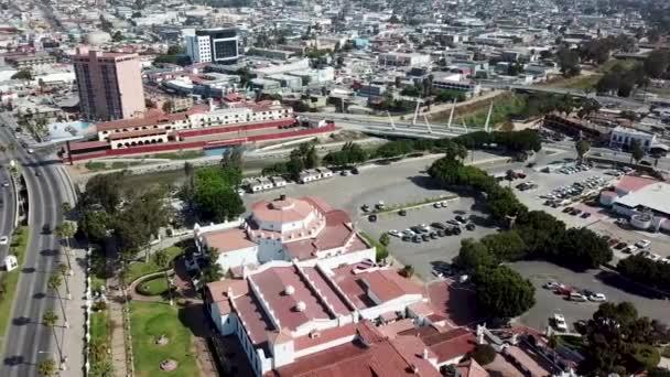 Luftaufnahme des Hotels Riviera del pacfico, ensenada, baja california