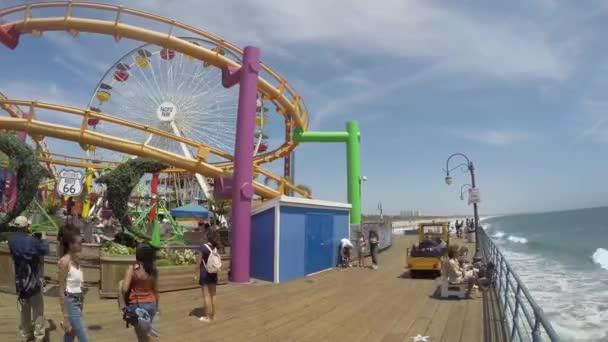 Zábavní park Santa Monica Pier Los Angeles