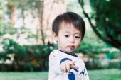 baba kisfiú portréja