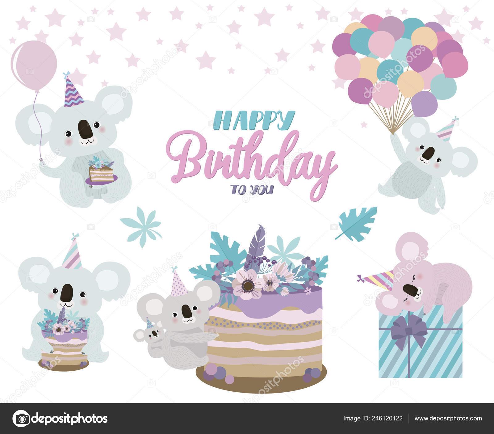 Fantastic Koala Birthday Card Koala Bear Birthday Card Cute Birthday Funny Birthday Cards Online Hetedamsfinfo