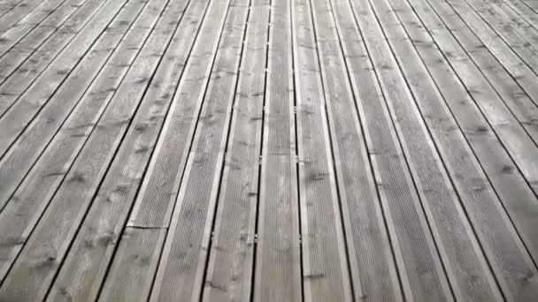 Dřevěný stůl podlaha na terasu