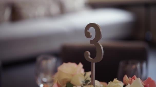 Svatební stůl výzdoba číslo 3
