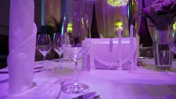 Interieur eines Luxusrestaurants