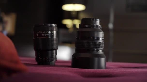 Obiettivi di macchina fotografica di DSLR.