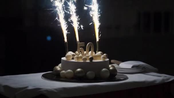 50 let výročí dort
