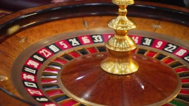 Casino ruleta tabulka s čipy
