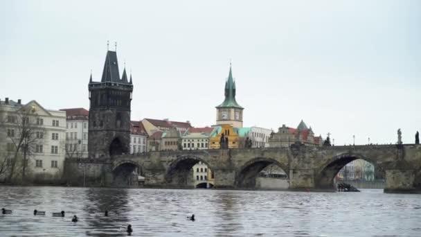 Charles bridge in Prague city