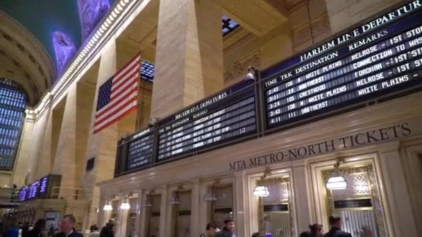 NEW YORK, USA - MAY 5, 2019: Grand Central railway station