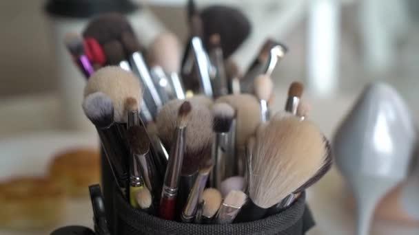 Make up professional brushes