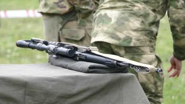 Egy optikai látvány puska