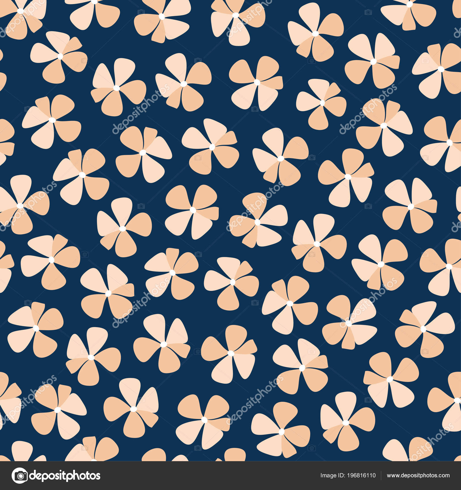 Free Hand Bold Floral Print Vector Stock Vector C Tinkerfrost
