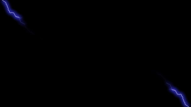 Lighting Strike Motion Graphics Animation Background Loop HD