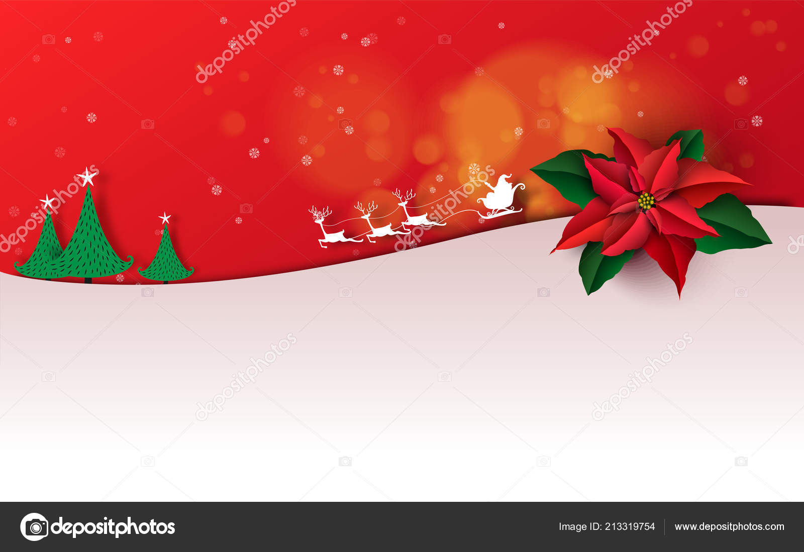 merry christmas happy new year christmas sale holiday background paper stock vector