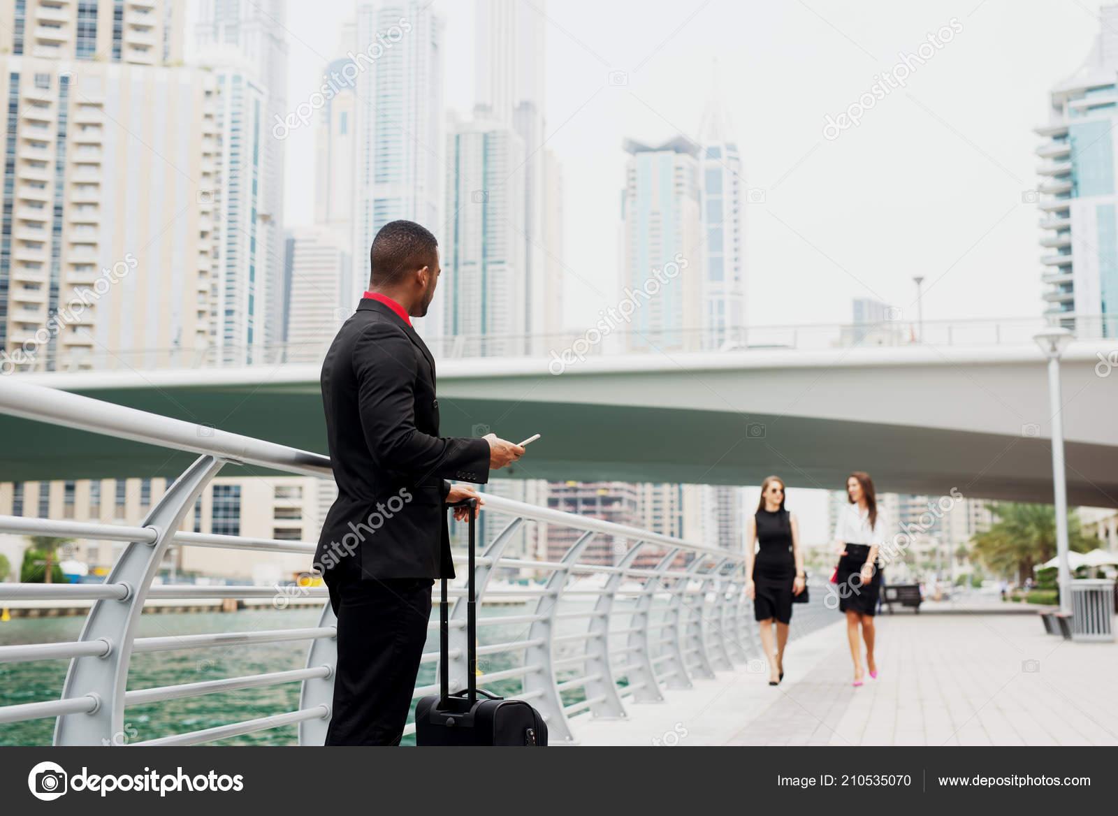 New Job Big City Two Beautiful Business Woman Meeting New — Stock