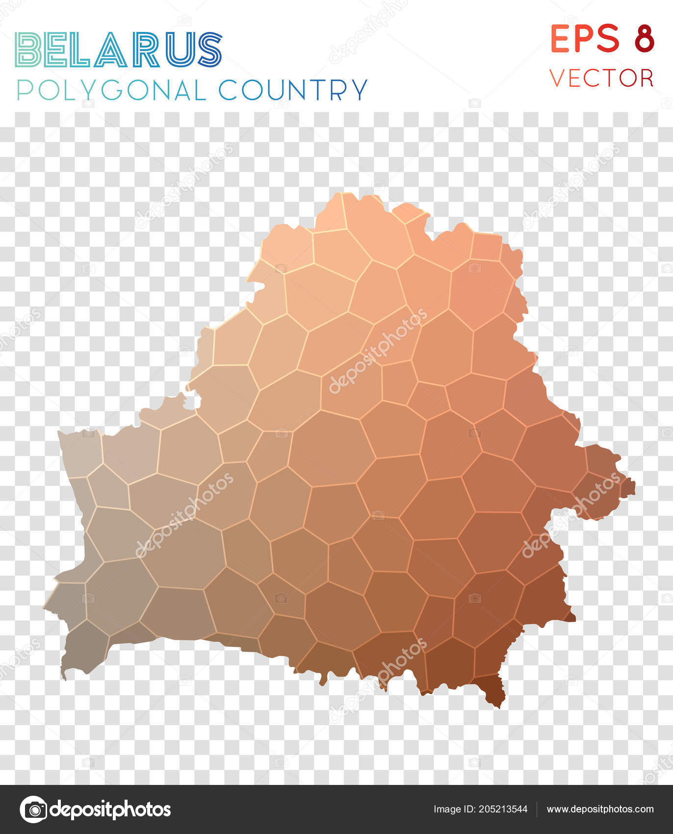 Hervorragend Belarus Polygonal Map Mosaic Style Country Captivating Low Poly Style  Modern Design Belarus U2014 Vetores De