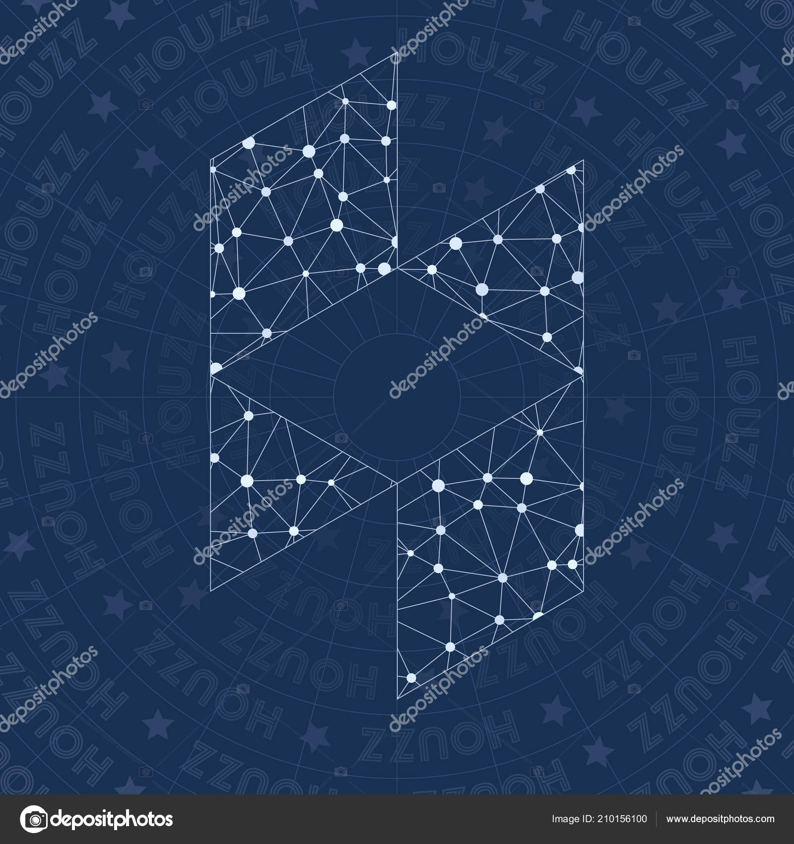 Houzz Network Symbol Alluring Constellation Style Symbol Flawless