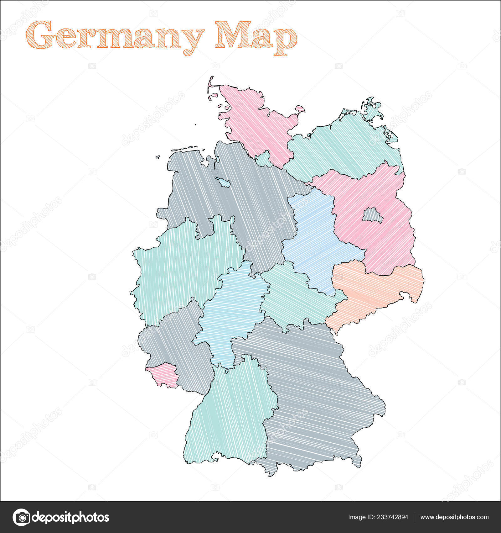 Germany handdrawn map Colourful sketchy country outline ... on germany industry map, germany political map, germany cities map, germany travel map, germany landmark map, germany water map, east germany map, germany major city map, germany surname map, germany country map, germany latitude map, germany power map, germany world map, germany located on map, germany road map, germany capital map, germany culture map, germany map with states, germany region map, germany postal map,