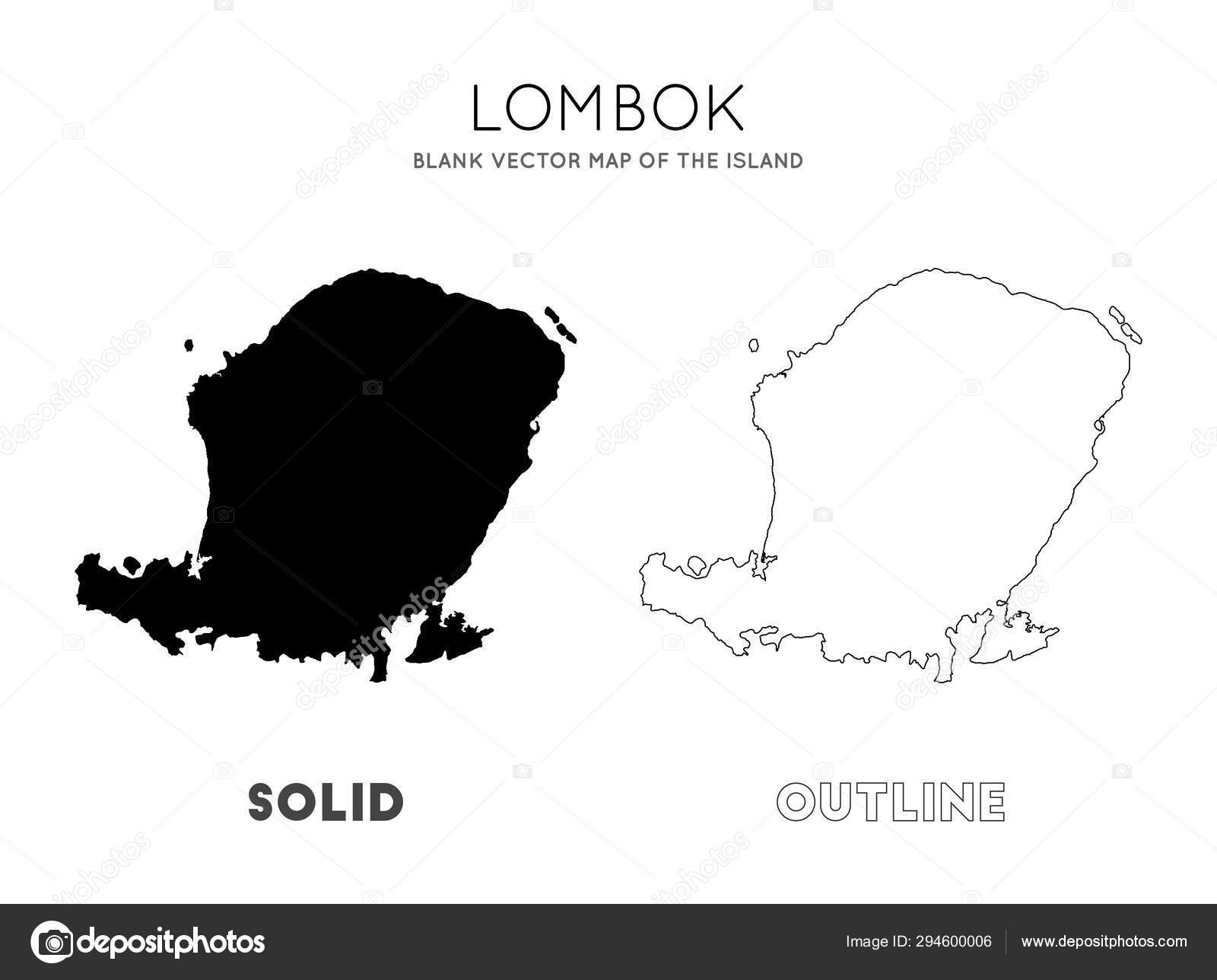 ᐈ Lombok Map Stock Vectors Royalty Free Peta Lombok