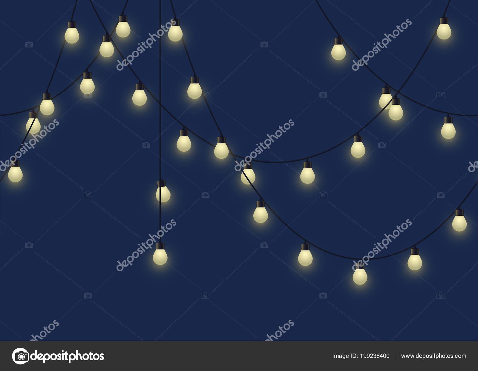 D'ampoule Lumineuse Sur Guirlande Sur Rougeoyantedécoratif Lumineuse Guirlande Sur D'ampoule Rougeoyantedécoratif D'ampoule UzVMGLqSp