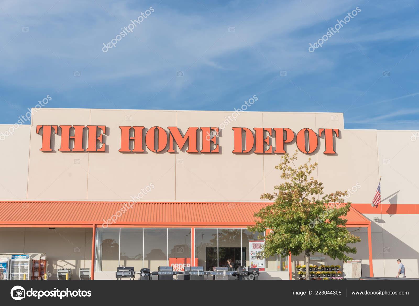 Irving Verlasst Uns Okt 2018 Home Depot Aussen Schaufenster Mit