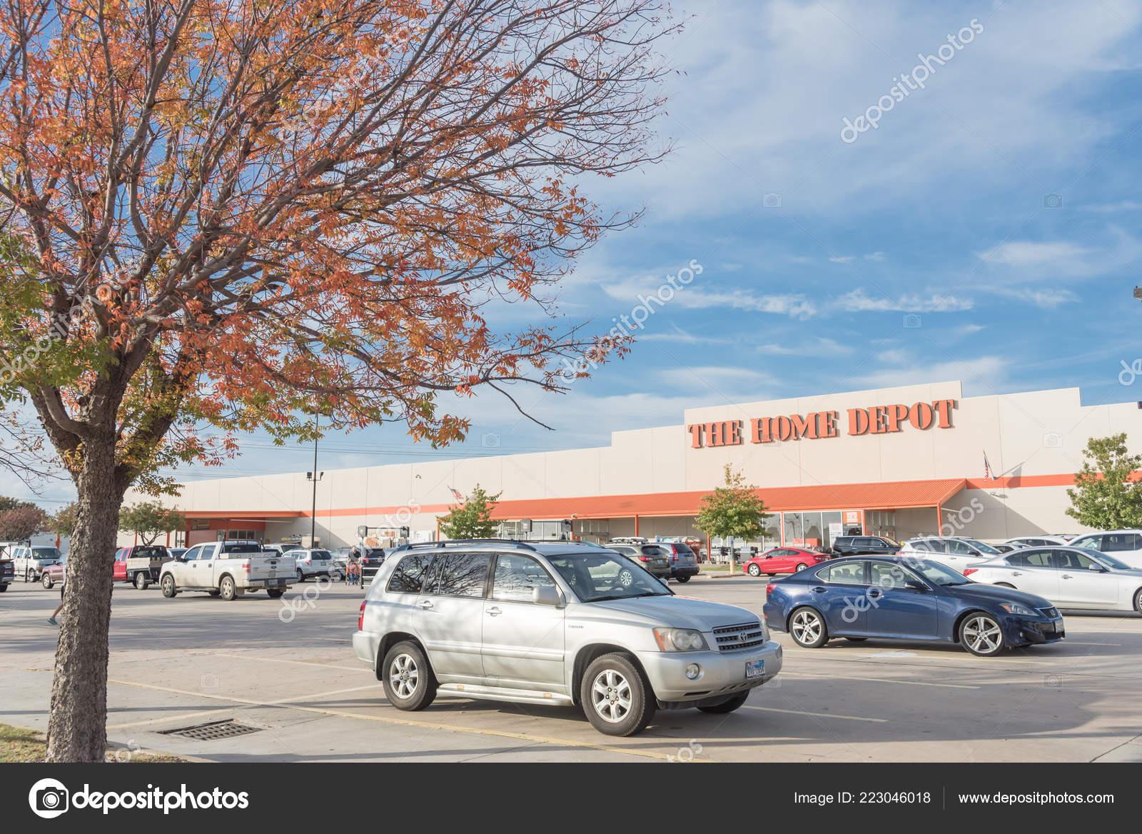 Irving Uns Okt 2018 Home Depot Aussen Schaufenster Von Freien