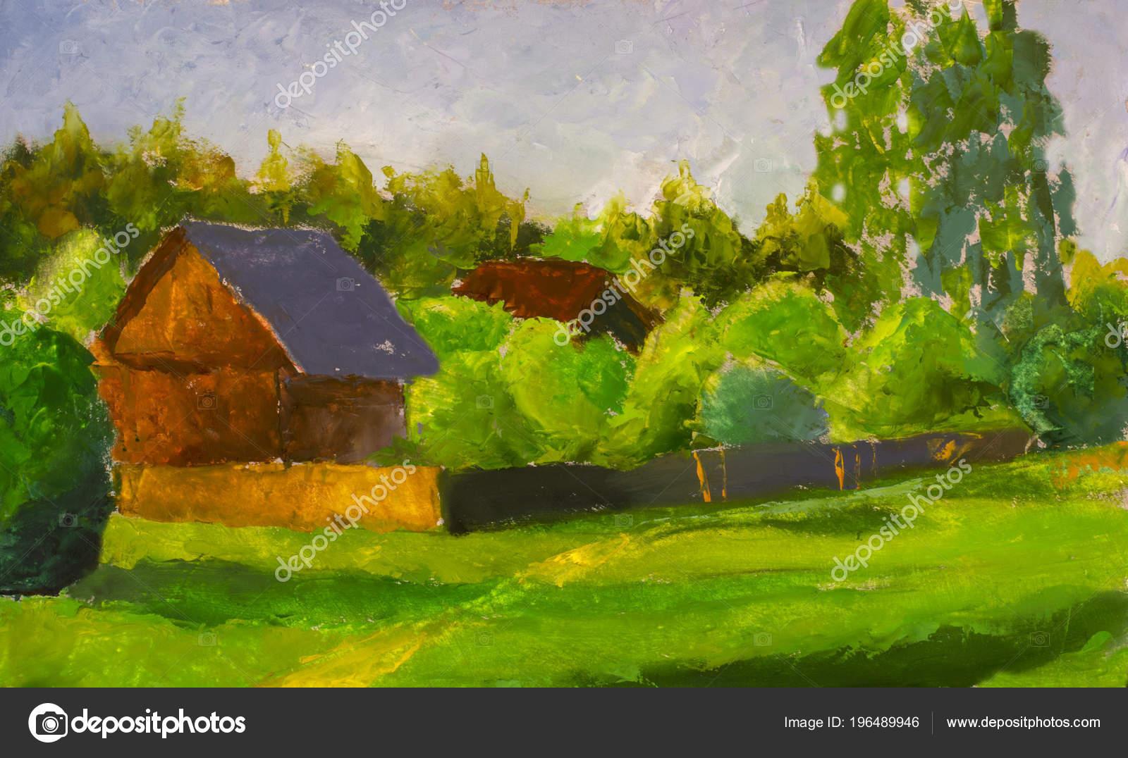 Rustykalny Dom Na Wsi