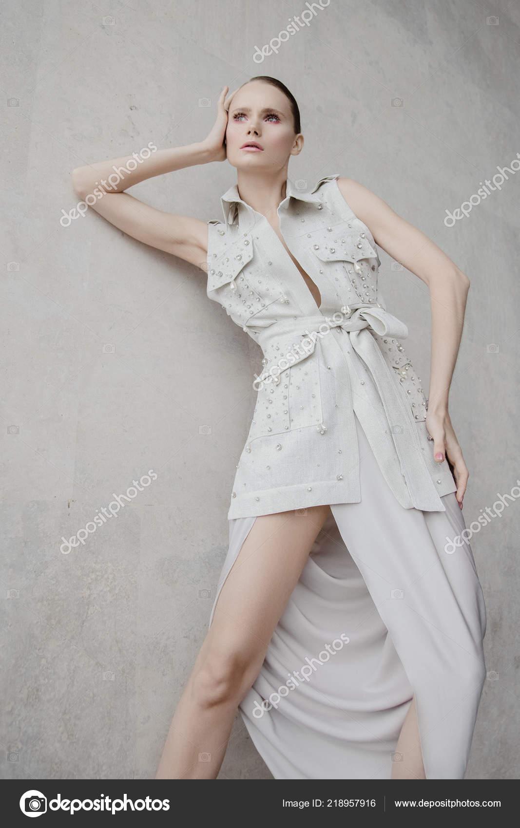 Beautiful Fashion Model Street Streetstyle Outmn Wearing