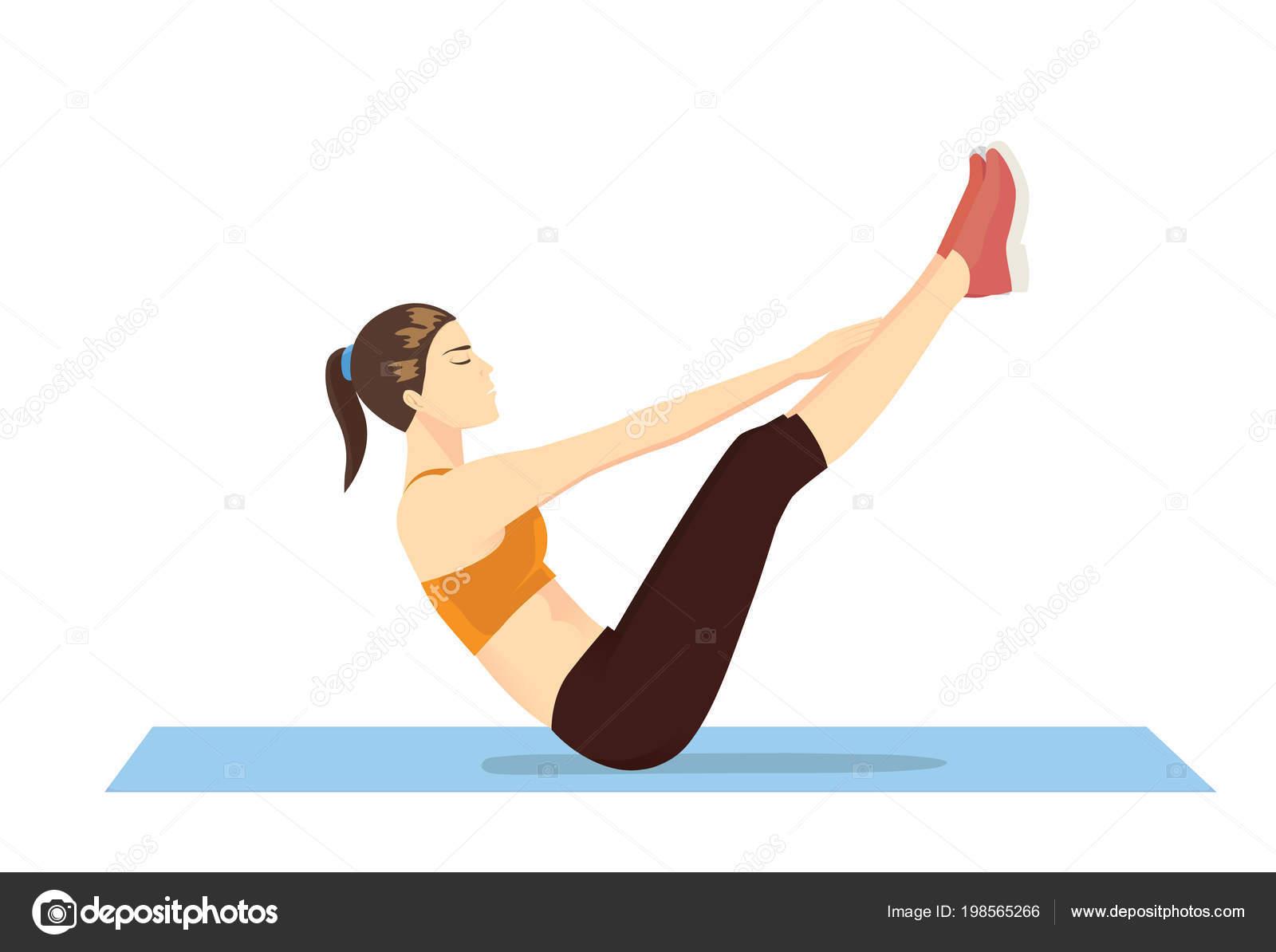 ejercicios para la v del abdomen