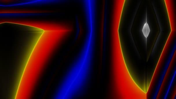 vícebarevné tekoucí pozadí abstraktní světlé