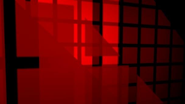 abstraktní motion grafika Rudého náměstí vzorů na tmavém pozadí